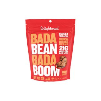 Enlightened Bada Bean Bada Boom Sweet Siracha Bean Snacks 3 Oz