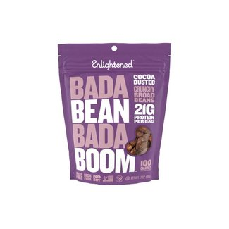 Enlightened Bada Bean Bada Boom Cocoa Dusted Bean Snacks 3 Oz