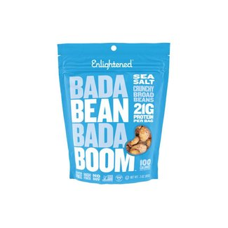 Enlightened Bada Bean Bada Boom Sea Salt Bean Snacks 3 Oz