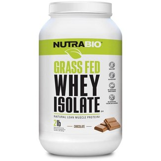 Nutrabio GRASS FED WHEY ISOLATE 2 LB CHOCOLATE