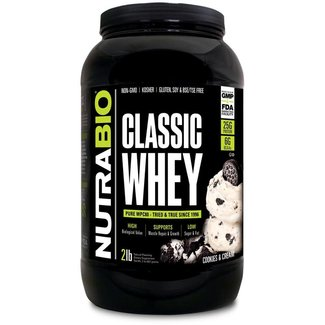 Nutrabio CLASSIC WHEY 2 LB ICE DREAM COOKIE CREAM