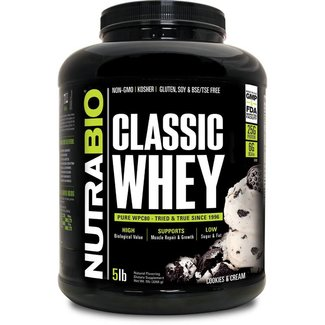 Nutrabio CLASSIC WHEY 5 LB ICE DREAM COOKIE CREAM