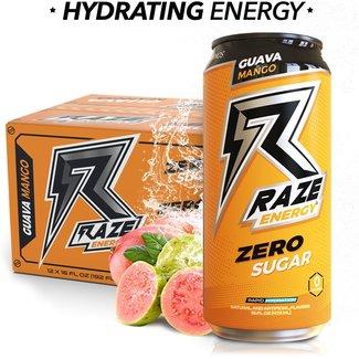 Repp Sports Raze Energy RTD Guava Mango 16 Fl Oz