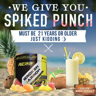 Repp Sports Broken Arrow Spiked Punch 30 Servings
