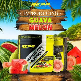 Repp Sports Broken Arrow Guava Melon 30 Servings