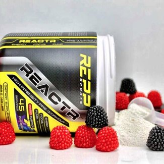 Repp Sports REACTR 45 SERV ZAP BERRY