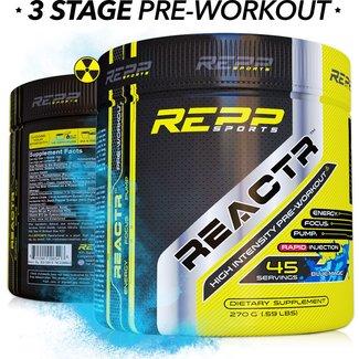 Repp Sports REACTR 45 SERV BLUE MAGIC