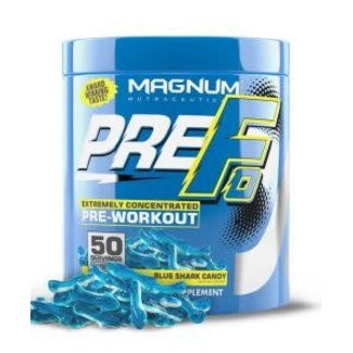 Magnum Nutraceuticals PRE-FO 50 SERV BLUE SHARK CANDY