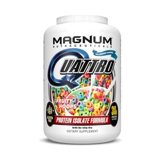 Magnum Nutraceuticals QUATTRO 2 LB FRUITY HOOPS