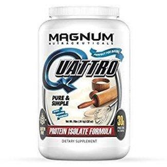 Magnum Nutraceuticals QUATTRO Pure & Simple 2 Lb