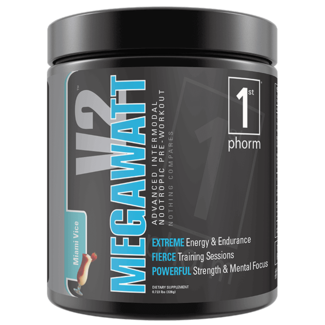 1st Phorm MEGAWATT V2 Lemonade 45 Servings