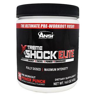 Ansi Xtreme Shock Elite Power Punch 30 Servings