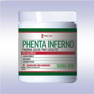 Atlas Labs Phenta Inferno Dr Thunder Powder 30 Servings