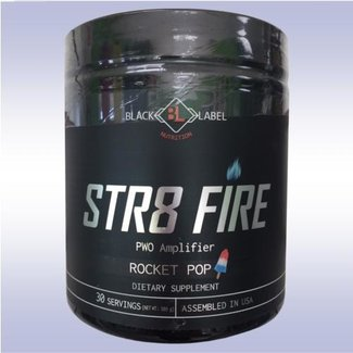 Black Label Nutrition STR8 FIRE 30 SERV ROCKET POP