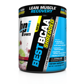 Bpi BEST BCAA SHREDDED 25 SERV CHERRY LIME