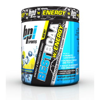 Bpi BEST BCAA W/ENERGY 25 SERV BLUEBERRY LEMONADE