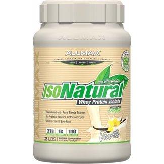 Allmax Nutrition ISONATURAL 2 LB VANILLA