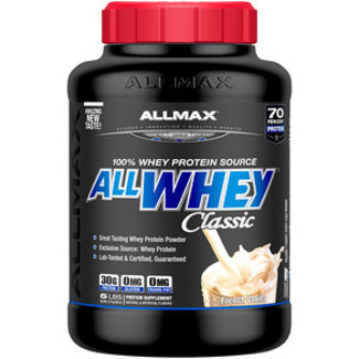 Allmax Nutrition ALL WHEY CLASSIC 5 LB VANILLA