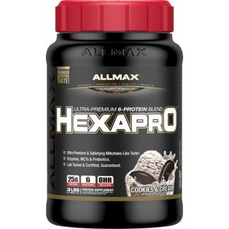 Allmax Nutrition HEXAPRO 2 LBS COOKIES & CREAM