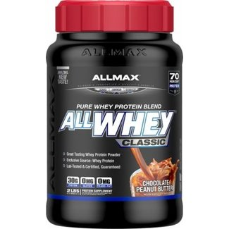 Allmax Nutrition ALL WHEY CLASSIC 2 LB CHOCOLATE PEANUT BUTTER