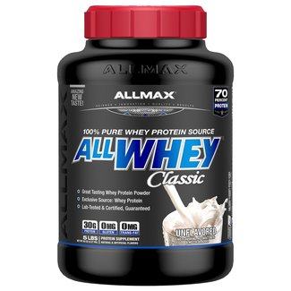 Allmax Nutrition ALL WHEY CLASSIC 5 LB UNFLAVORED