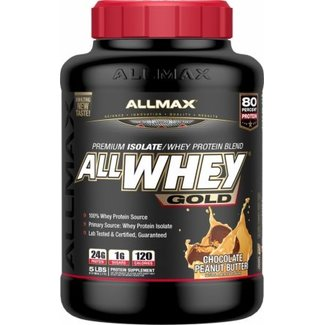 Allmax Nutrition AllWhey Gold Chocolate Peanut Butter 5 Lb