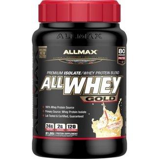 Allmax Nutrition ALL WHEY GOLD 2 LB BIRTHDAY CAKE
