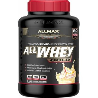 Allmax Nutrition ALLWHEY GOLD 5 LB BIRTHDAY CAKE