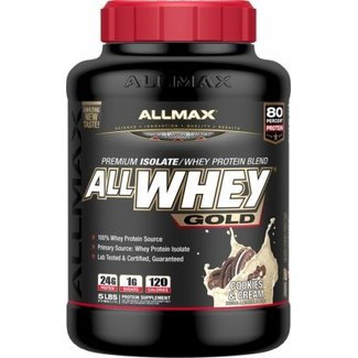 Allmax Nutrition ALLWHEY GOLD 5 LB COOKIES & CREAM
