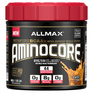 Allmax Nutrition Aminocore Sweet Tea Powder 44 Serv