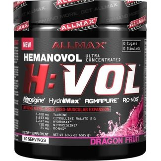 Allmax Nutrition H:VOL 30 SERVINGS DRAGON FRUIT