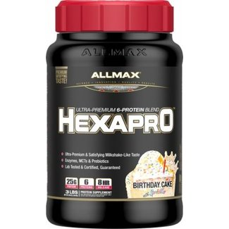 Allmax Nutrition HEXAPRO 3 LB BIRTHDAY CAKE