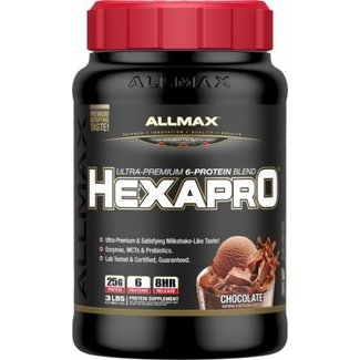 Allmax Nutrition HexaPro Chocolate 3Lb