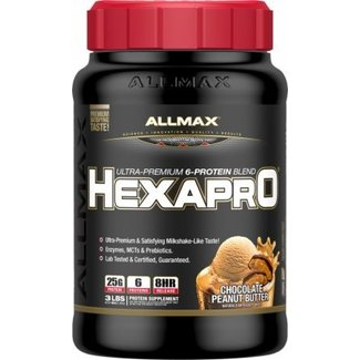 Allmax Nutrition HexaPro Chocolate Peanut Butter 3Lb