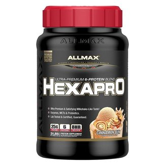 Allmax Nutrition HEXAPRO 3 LBS CINNAMON BUN