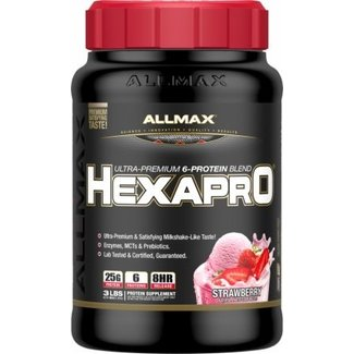 Allmax Nutrition HEXAPRO 3 LB STRAWBERRY