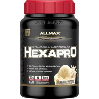 Allmax Nutrition Hexapro Ultra Premium French Vanilla 3 Lb
