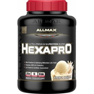 Allmax Nutrition HexaPro French Vanilla 5.5Lb