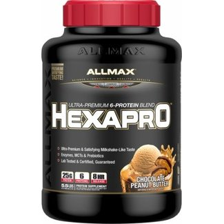 Allmax Nutrition HEXAPRO 5 LB PEANUT BUTTER CHOCOLATE