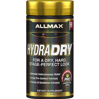 Allmax Nutrition HydraDry 14-Day Water Loss System 84 Tablets