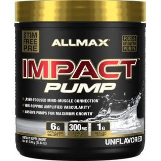 Allmax Nutrition Impact Pump Unflavored 30 Servings