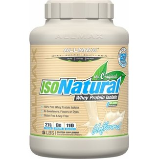 Allmax Nutrition IsoNatural Unflavored 5 Lb