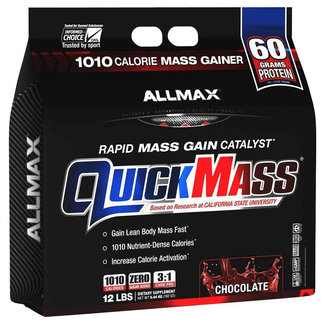 Allmax Nutrition QUICK MASS 12 LB CHOCOLATE