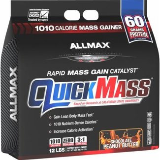 Allmax Nutrition QUICK MASS 12 LBS CHOCOLATE PEANUT BUTTER