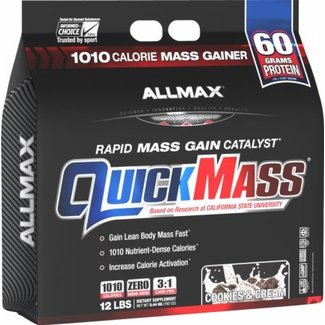 Allmax Nutrition QUICK MASS 12 LBS COOKIES AND CREAM