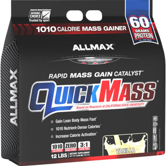 Allmax Nutrition QUICK MASS 12 LB VANILLA