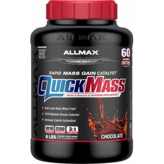 Allmax Nutrition QUICK MASS 6 LB CHOCOLATE