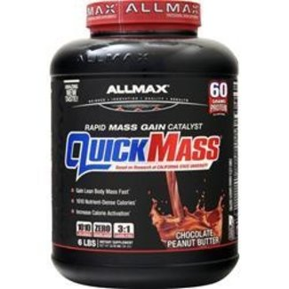 Allmax Nutrition QUICK MASS 6 LB CHOCOLATE PEANUT BUTTER