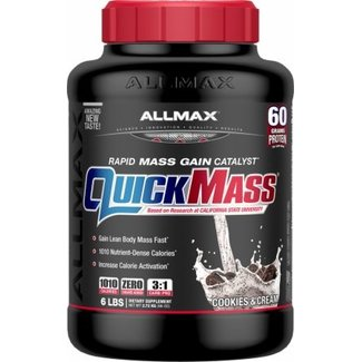 Allmax Nutrition Quick Mass Cookies And Cream 6 Lb
