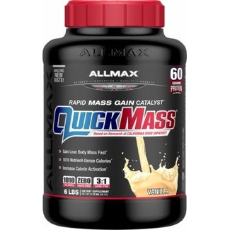 Allmax Nutrition QUICK MASS 6 LB VANILLA